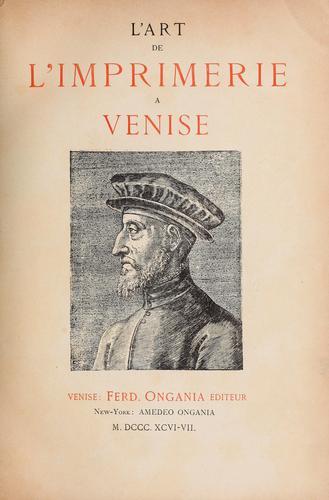 Download L' art de l'imprimerie à Venise.