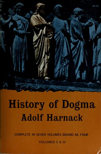 History of Dogma.