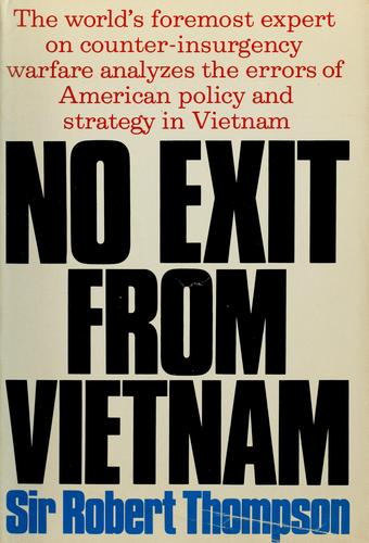 No exit from Vietnam