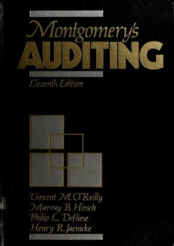 Download Montgomery's Auditing.