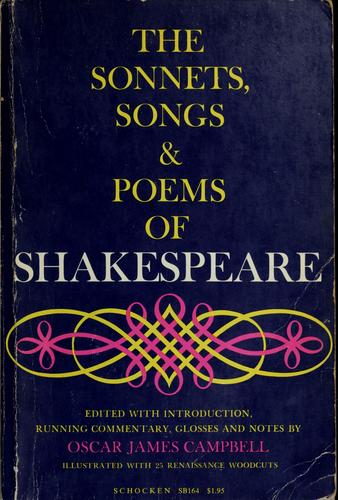 Download Sonnets, songs & poems.
