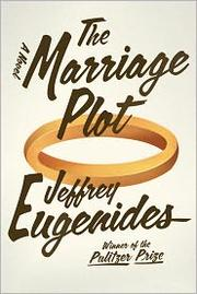 Book Cover: 'The Marriage Plot' by Jeffrey Eugenides