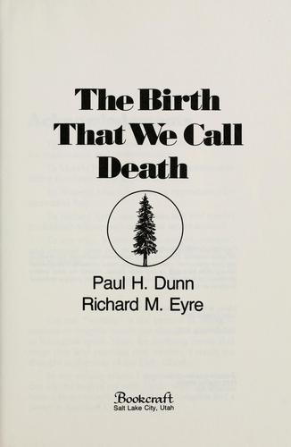 Download The birth that we call death