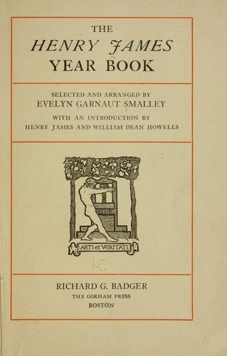 Download The Henry James year book