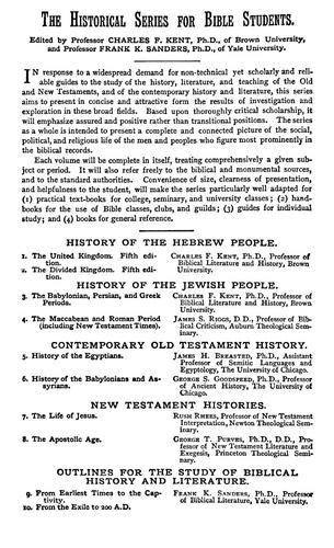 Download A history of the Hebrew people …