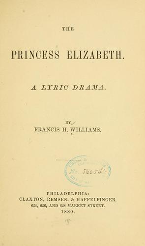 The Princess Elizabeth.