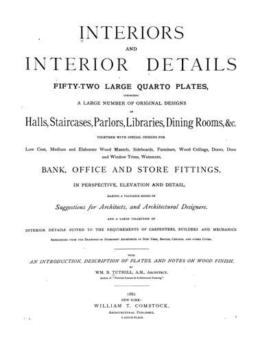 Download Interiors and interior details