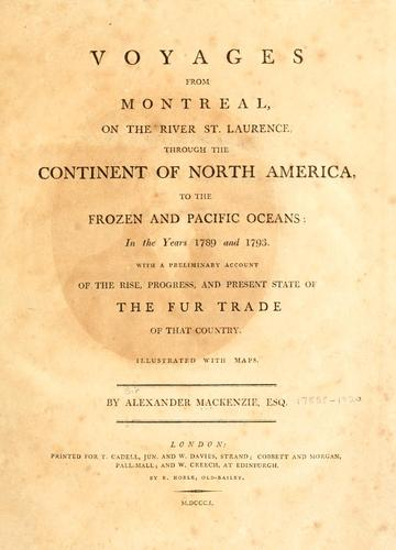 Download Voyages from Montreal