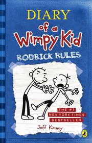 Rodrick Rules (Diary of a Wimpy Kid #2) [Hardcover] by Kinney, Jeff