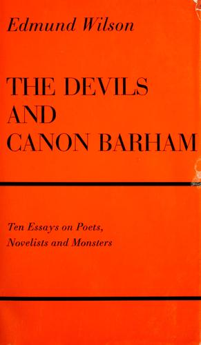 Download The devils and Canon Barham