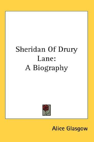 Sheridan Of Drury Lane
