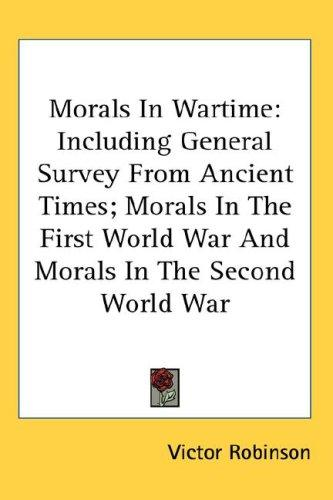 Morals In Wartime