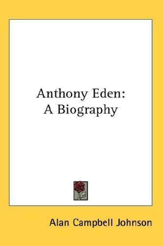 Anthony Eden