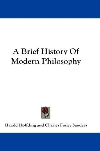 Download A Brief History Of Modern Philosophy