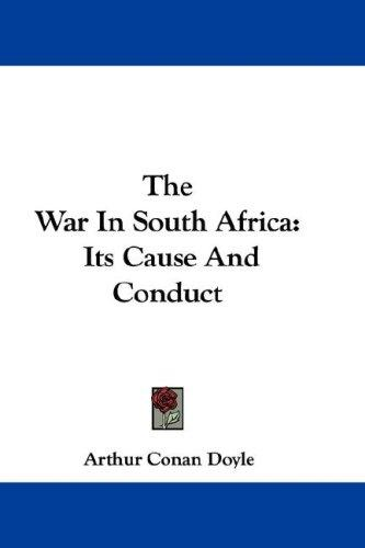 Download The War In South Africa