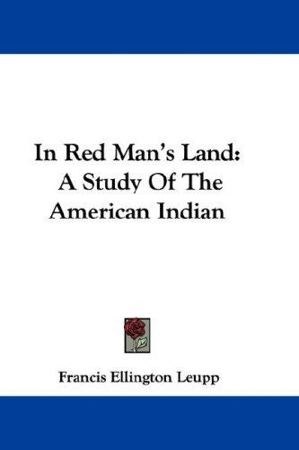In Red Man's Land
