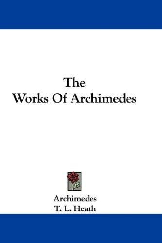 Download The Works Of Archimedes