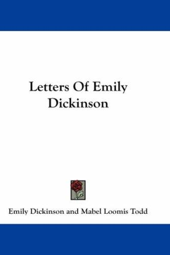 Download Letters Of Emily Dickinson