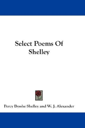Select Poems Of Shelley