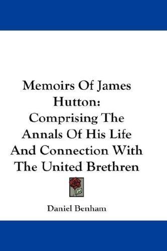 Memoirs Of James Hutton