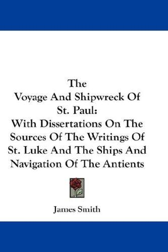 The Voyage And Shipwreck Of St. Paul