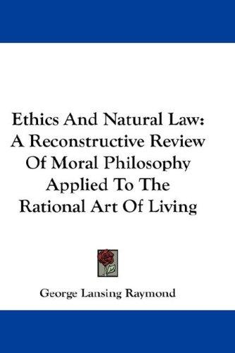 Ethics And Natural Law