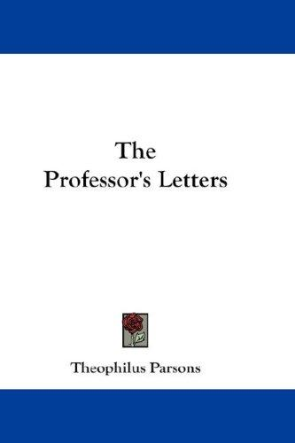 The Professor's Letters