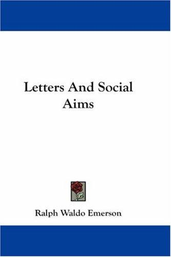 Download Letters And Social Aims
