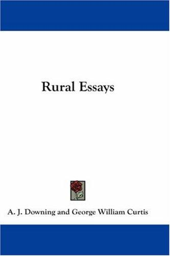 Download Rural Essays
