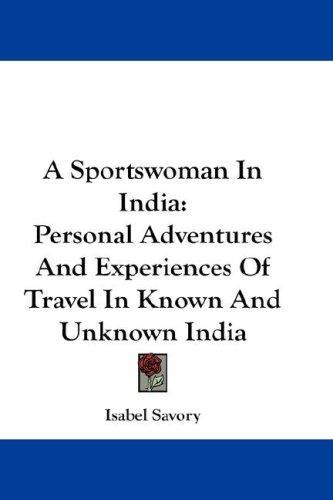 A Sportswoman In India
