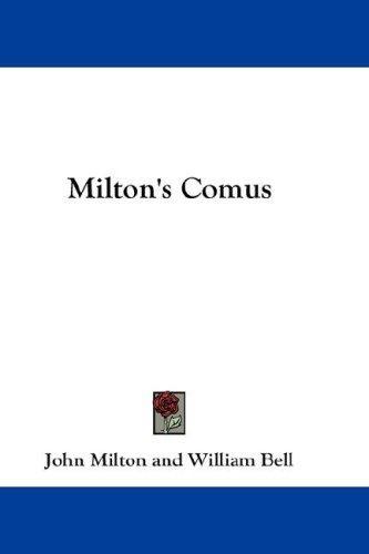 Download Milton's Comus