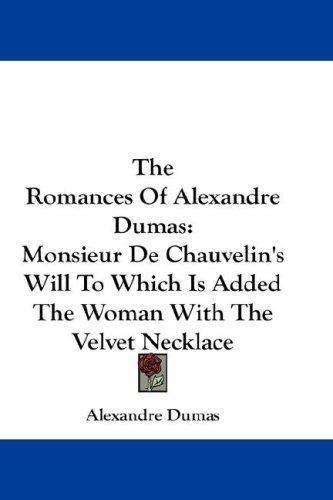 Download The Romances Of Alexandre Dumas