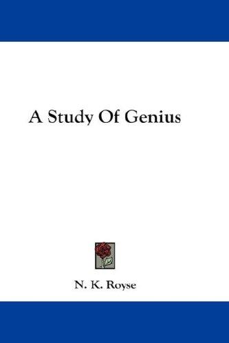 Download A Study Of Genius