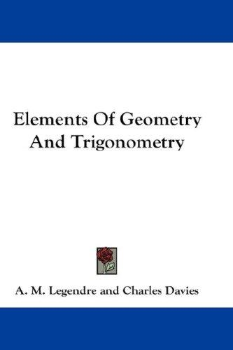 Download Elements Of Geometry And Trigonometry