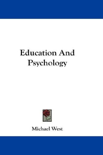 Download Education And Psychology