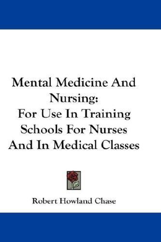 Mental Medicine And Nursing