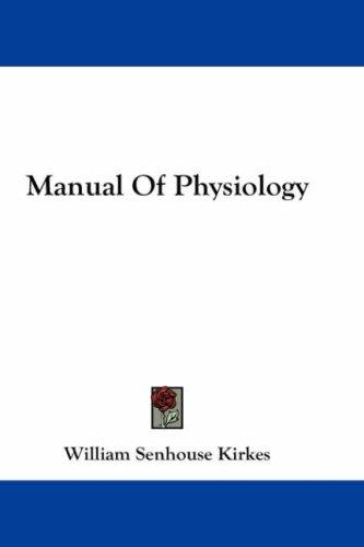 Download Manual Of Physiology