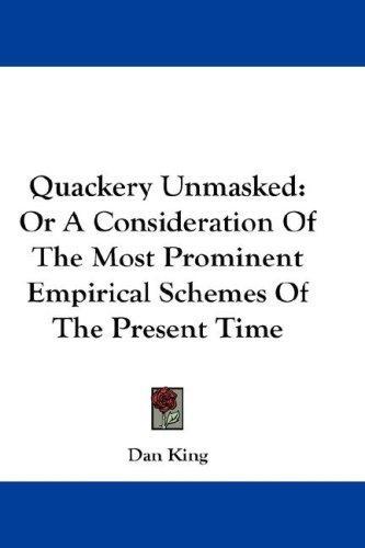 Quackery Unmasked