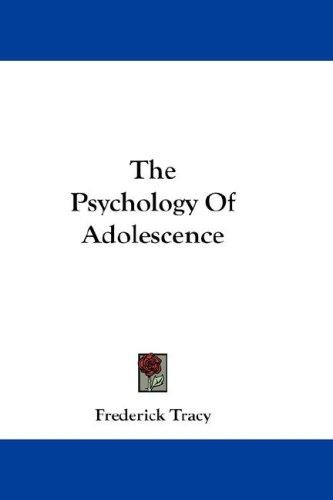 Download The Psychology Of Adolescence