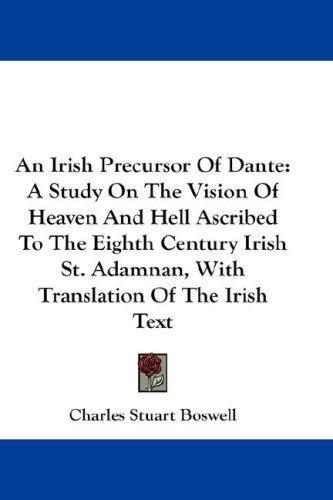 An Irish Precursor Of Dante