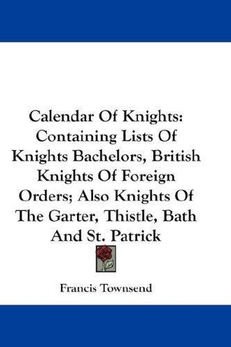 Calendar Of Knights