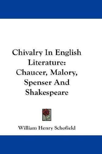 Download Chivalry In English Literature