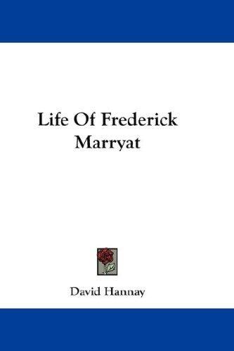 Life Of Frederick Marryat