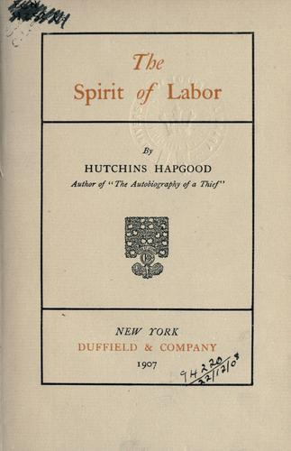 The spirit of labor.