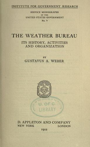 The Weather Bureau