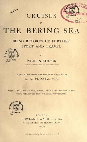 Download Cruises in the Bering Sea