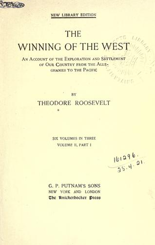 Download The winning of the west
