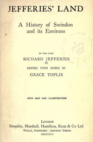 Download Jefferies' land