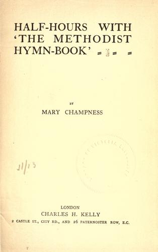 """Download Half-hours with """"The Methodist hymn-book"""""""