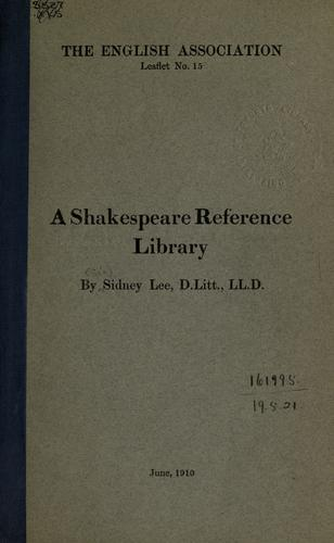 Download A Shakespeare reference library.